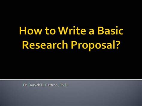 How to prepare PhD proposal- Thesis Guidance
